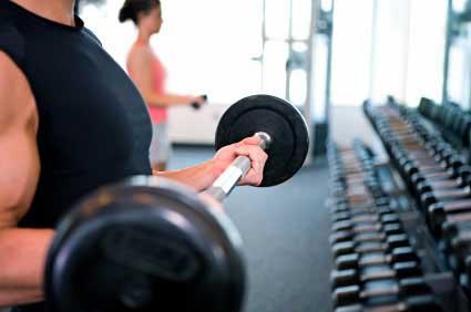 فواید تمرین با وزنه