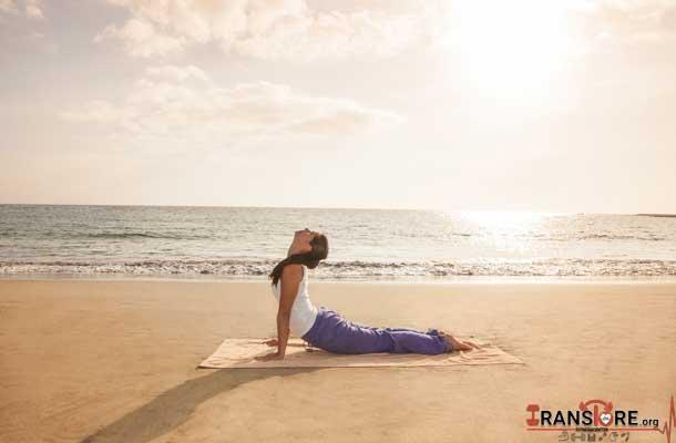 تاثیرات ورزش یوگا بر روی پوست