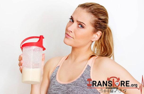 آیا خانمها می توانند پروتئین مصرف کنند