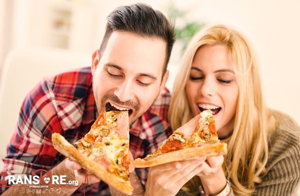 آنچه که یک برش پیتزا بر سر شما می آورد