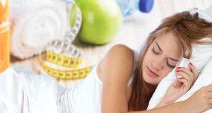 تاثیر خواب در رژیم های غذایی